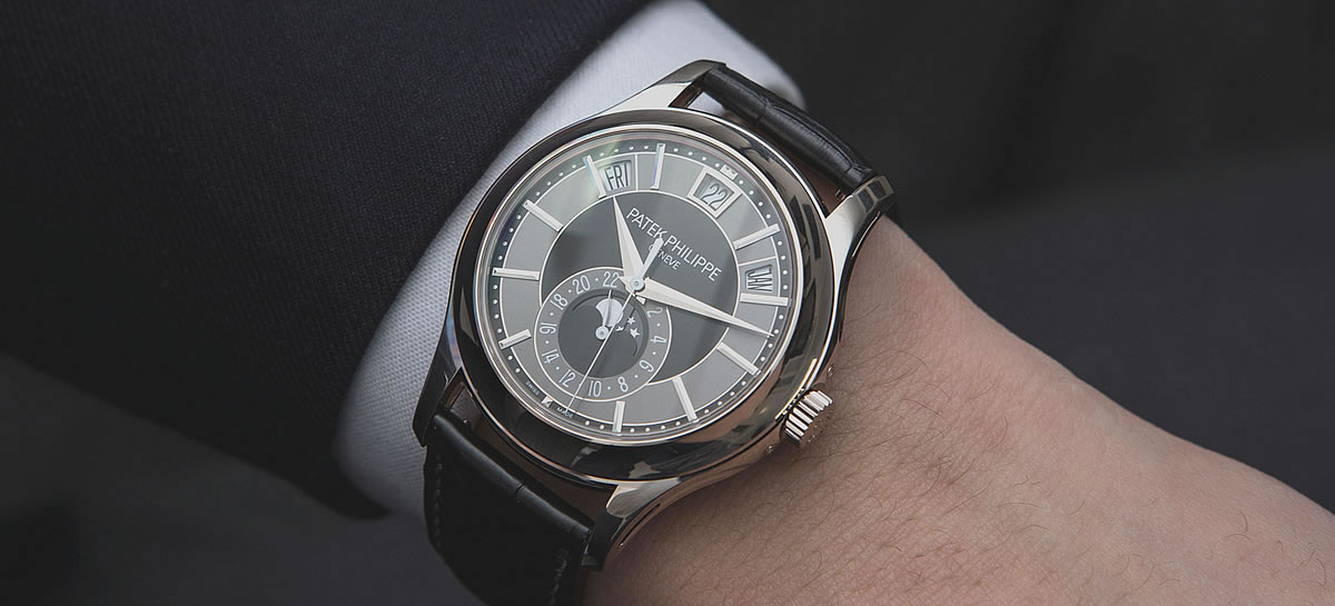 Complications Replica Annual Calendar Moonphase
